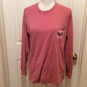 Pink Victoria's Secret T-Shirt S Rose Pink